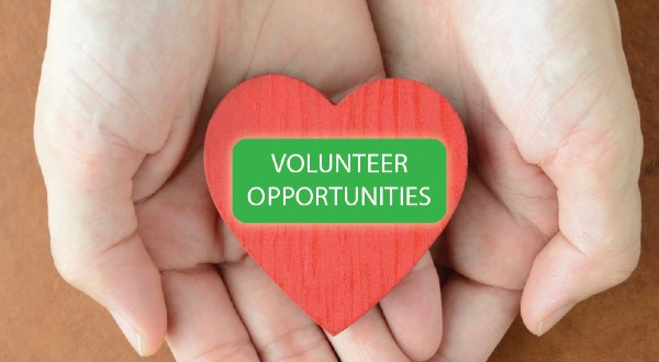 Volunteer Opportunities banner
